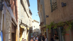 Narrow streets in town