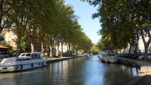 Canal du Midi in Carcassone