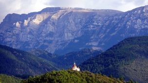 Chapel in the Pyrenees