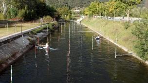 White water kayak track