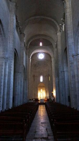 A high Romanesque apsis