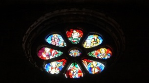 Stained glas window