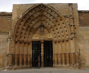 Entrance to La Seu Vella in Lleida