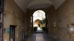 Entrance of the Parador