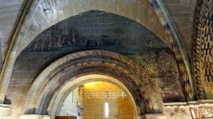 Murals inside the Chapel