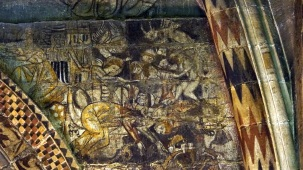 murals of old battles