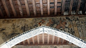 murals made in the 14th century