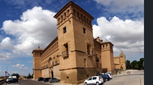 Castle, now a Parador in Alcaniz