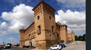 Castle, now a Parador in Alcaniz