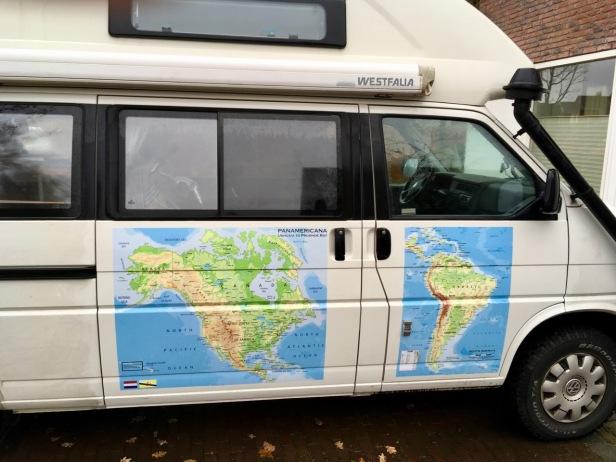 Maps on camper 1