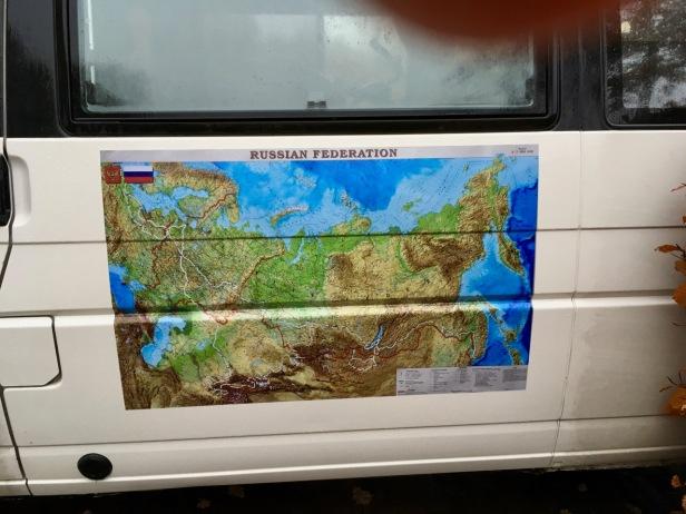 Maps on camper 2