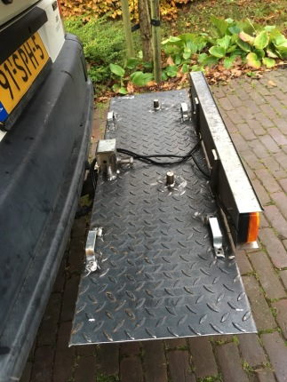 New ground plate for the bicycles