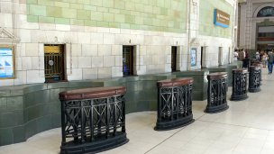Closed ticket offices