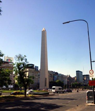 65 high Obelisco