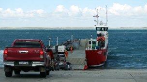 Ferry crossing to Tierra del Fuego