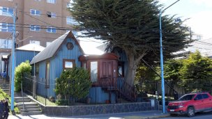 Old seafront house