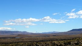 Fitz Roy in the distance ...